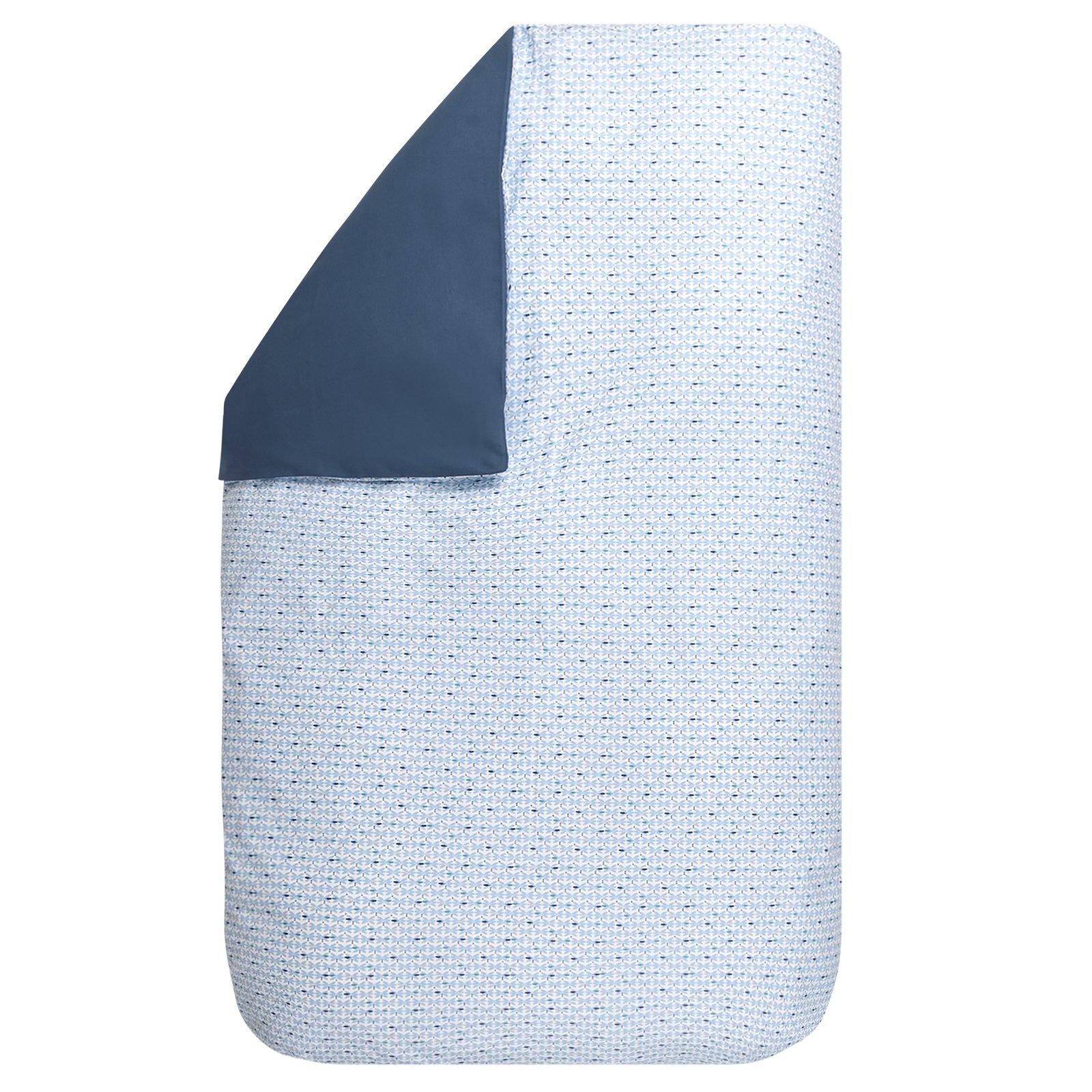 dekbedovertrek Babette blue 60×80