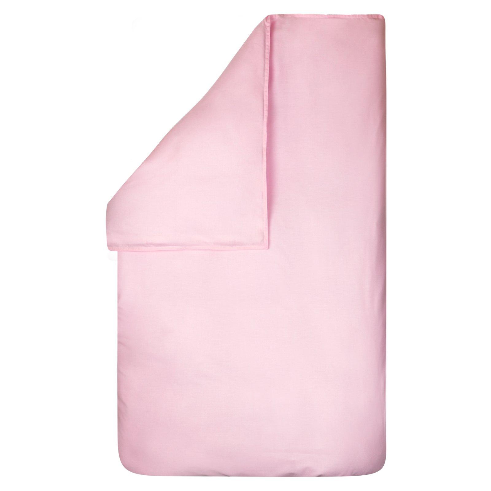 dekbedovertrek Bo roze 100×135