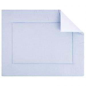 Boxkleed Pique wafel blue. Mooi speelkleed van zacht wafelkatoen in lichtblauw. Standaard in de maat 80x100cm. Ook andere maten mogelijk.