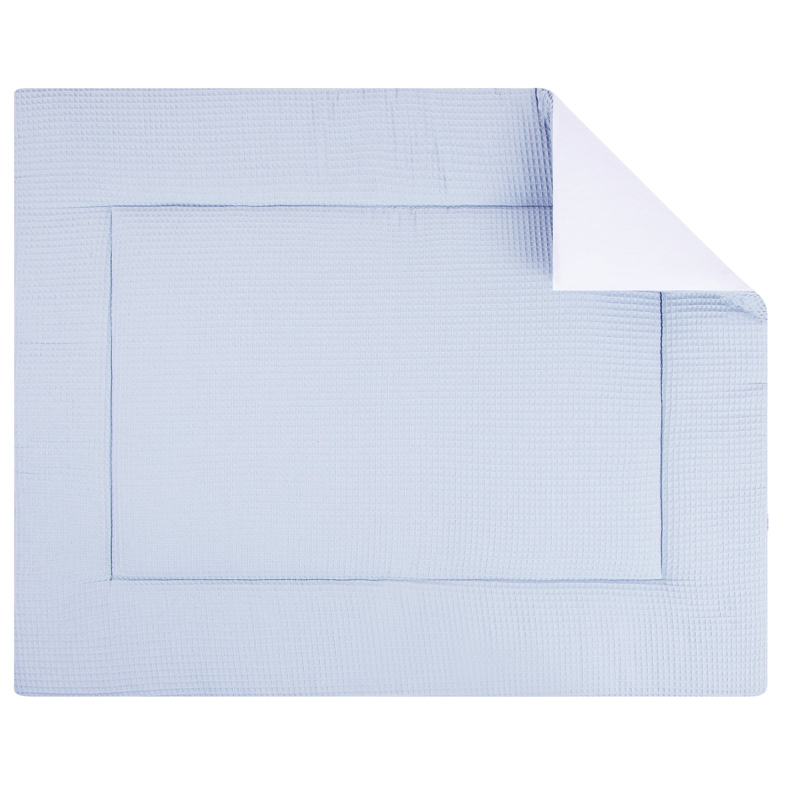 boxkleed Pique blue