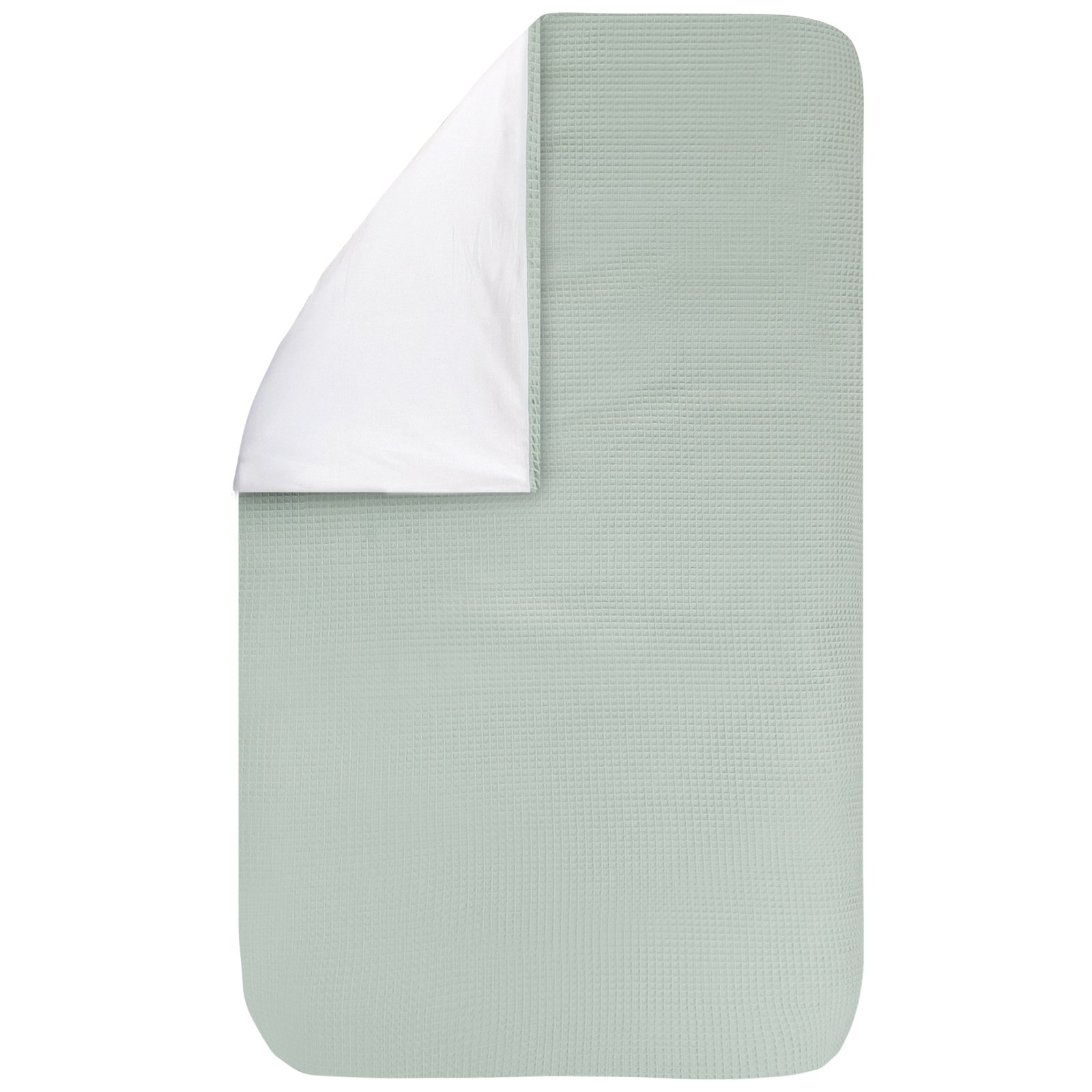 dekbedovertrek Pique olijf 100×135