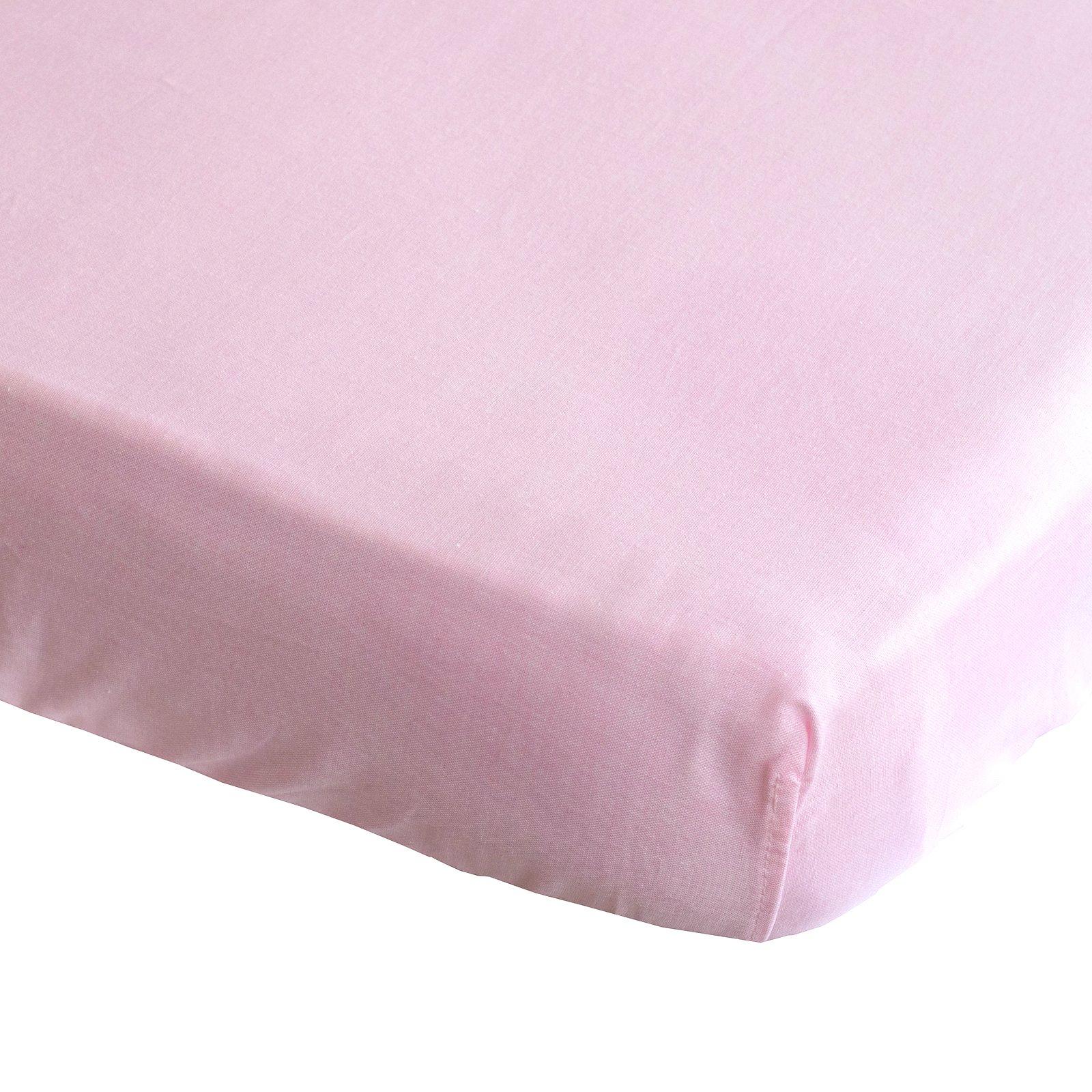hoeslaken Bo roze 70×150