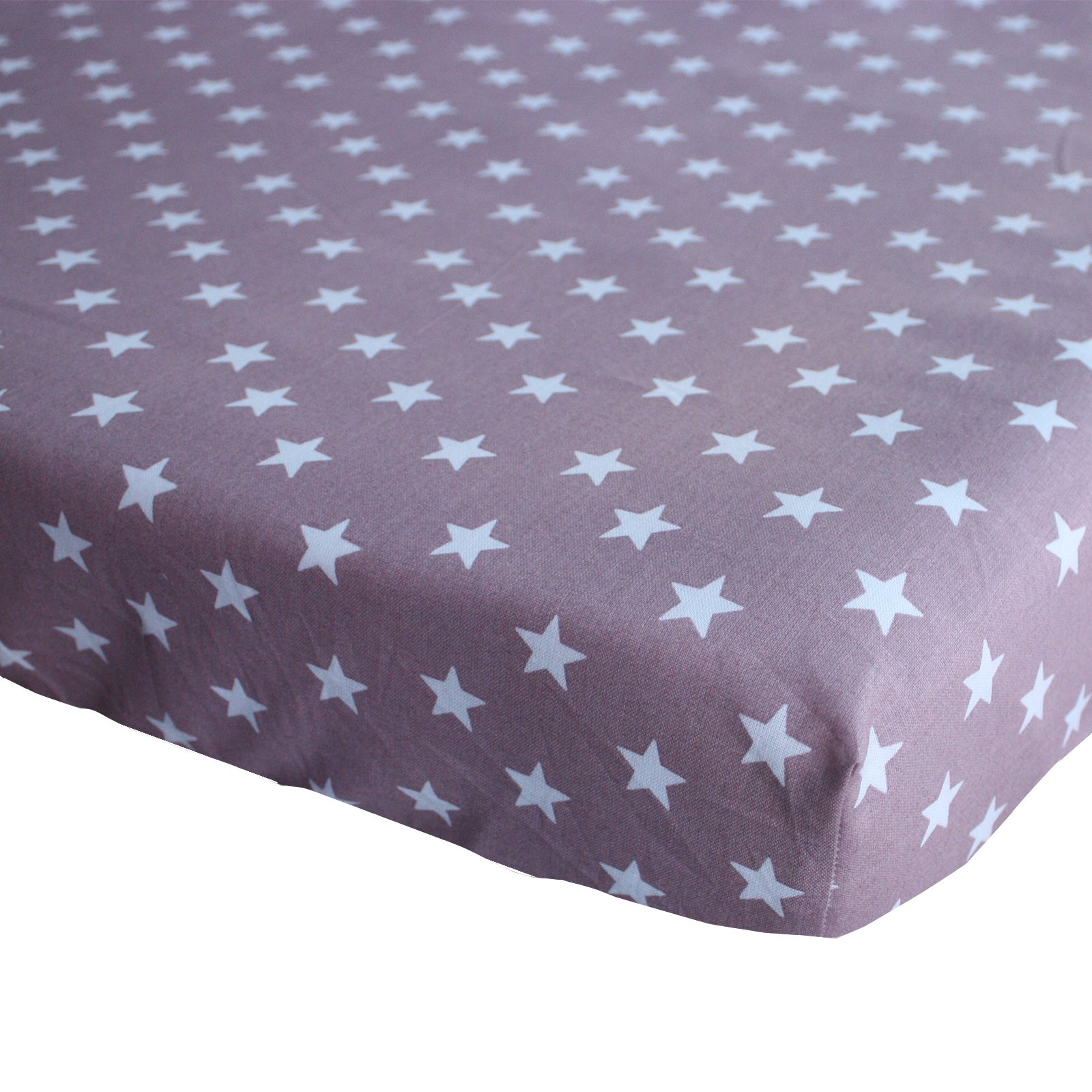 hoeslaken Stars oudroze 70×150
