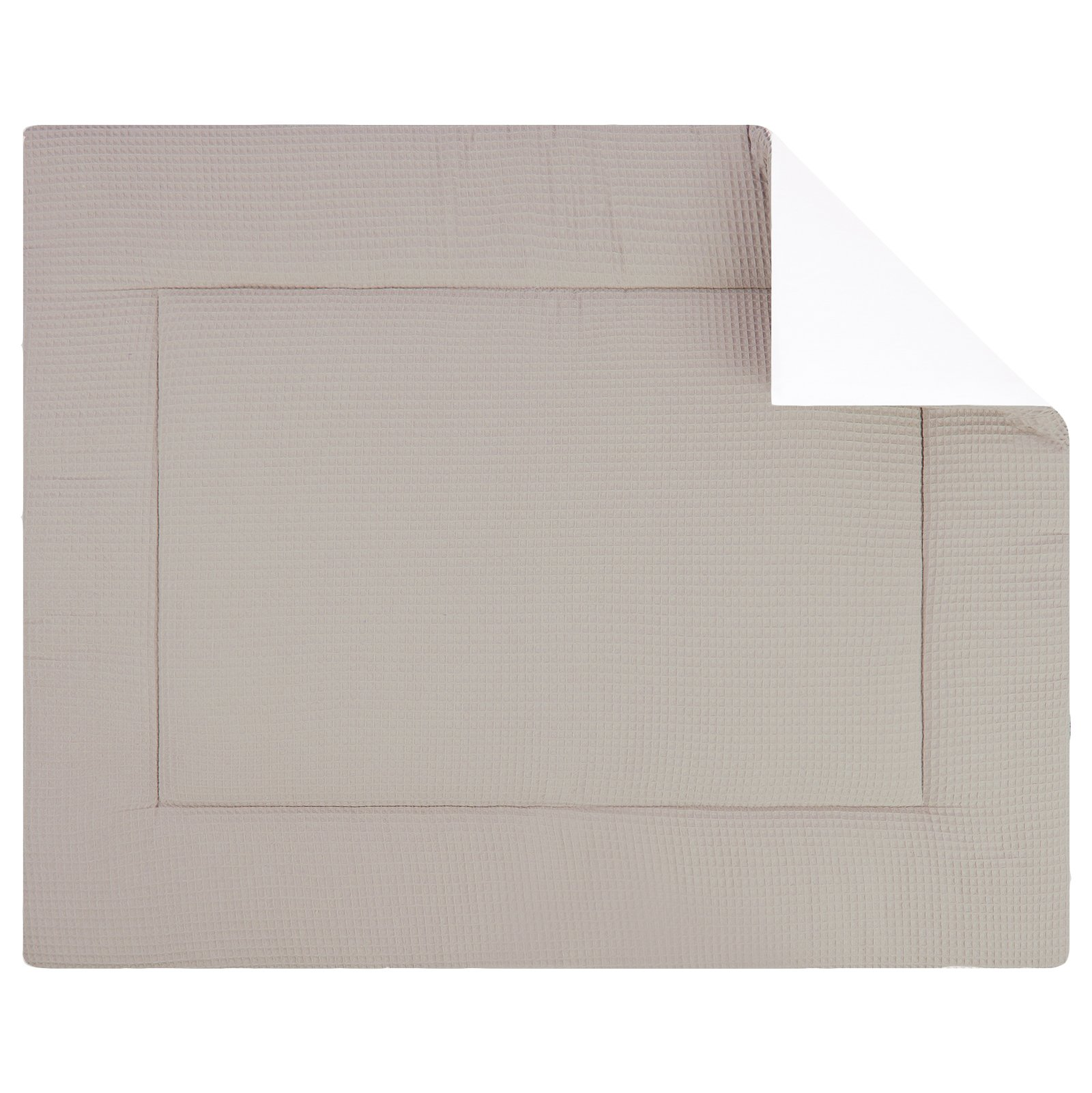 Boxkleed Pique wafel zand. Mooi speelkleed van zacht wafelkatoen in zand/beige. Standaard in de maat 80x100 cm. Ook andere maten mogelijk.