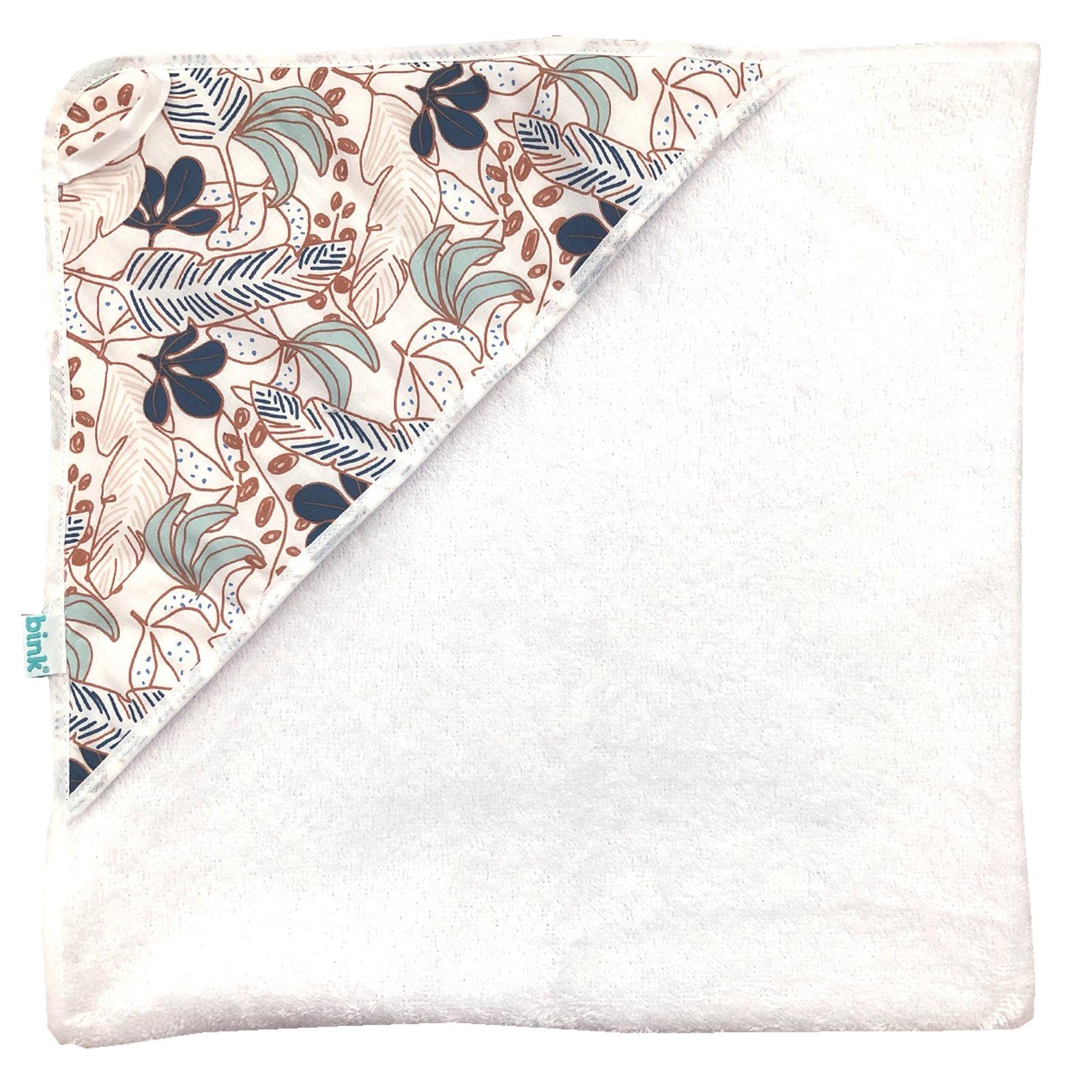 Badcape Juul. Een handige badcape met capuchon en handige ophanglus. Gemaakt van mooie zachte dubbelgeluste badstof.