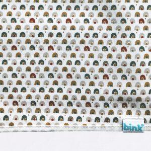 BB120811 BINK Ledikantlaken 100x150 Rainbow