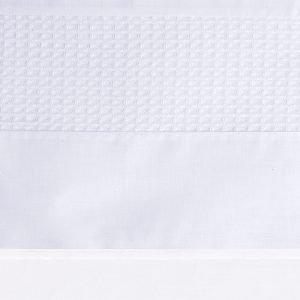 BB721111 BINK ledikantlaken 100x150 Pique wafel wit