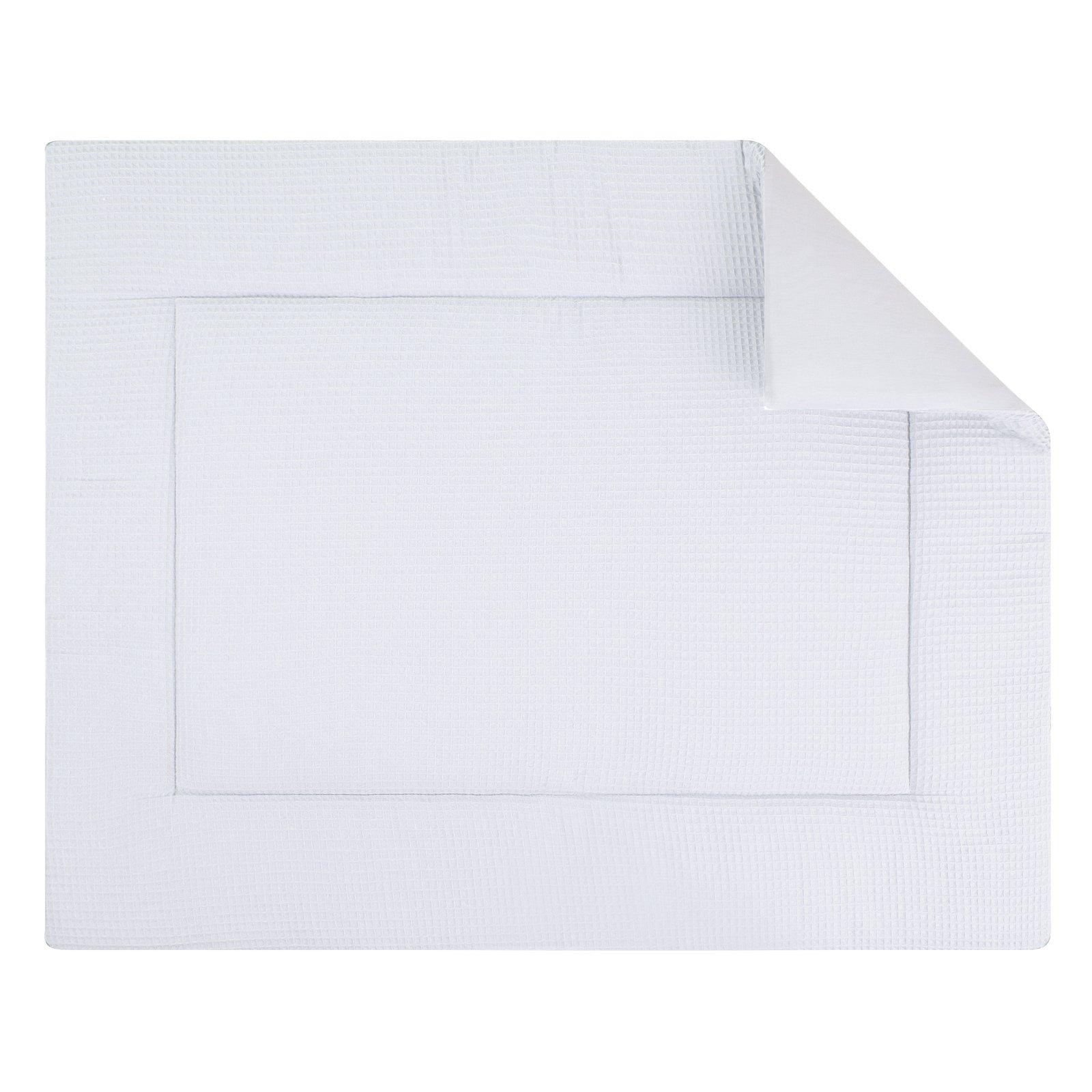 Boxkleed Pique wafel wit. Mooi speelkleed van zacht wafelkatoen in wit. Standaard in de maat 80x100 cm. Ook andere maten mogelijk.