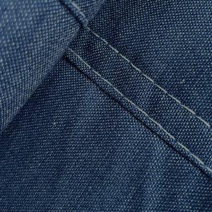 Detail chambray Bo jeansblauw